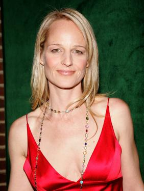 Helen Hunt at the New York opening night of &#39;Light In the Piazza&quot;.
